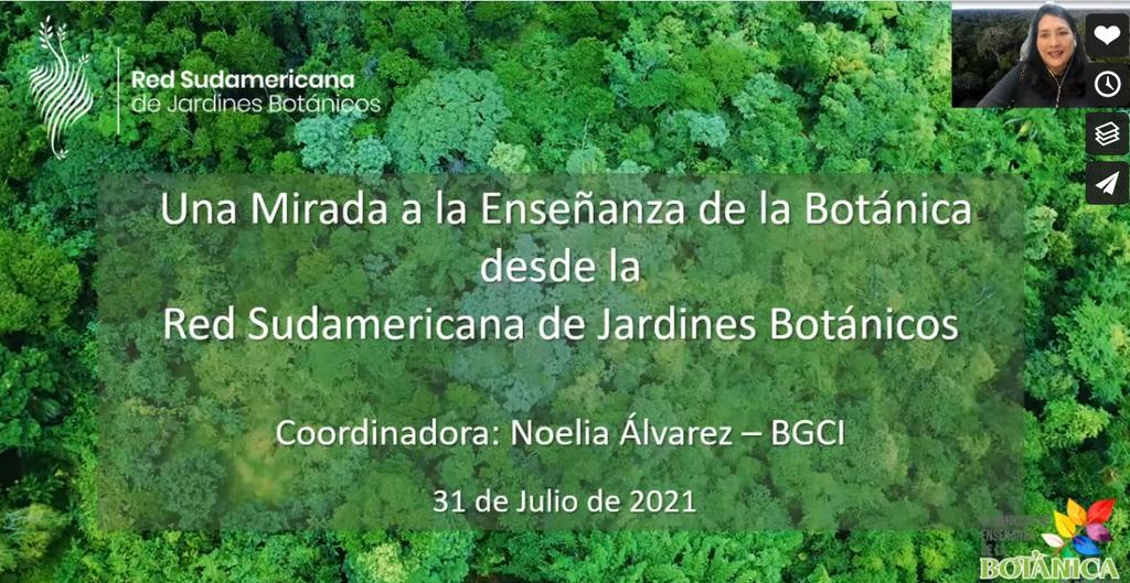 Red sudamericana de jardines botanicos