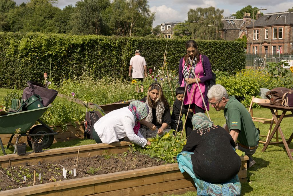 RBGE community gardening